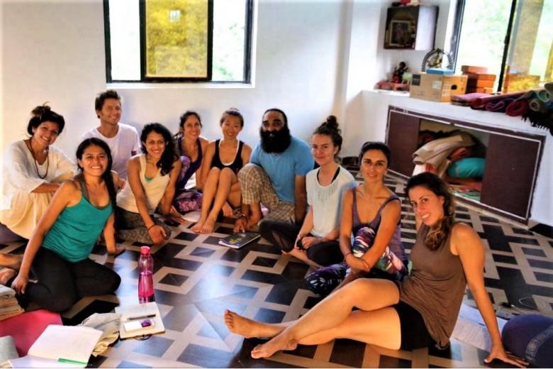 ioga class