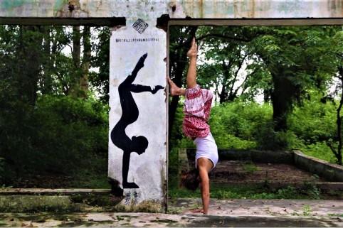 ioga pose